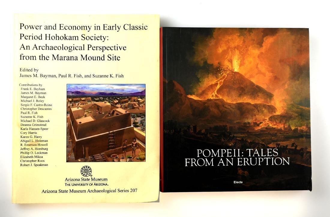 Hohokam and Pompeii Books
