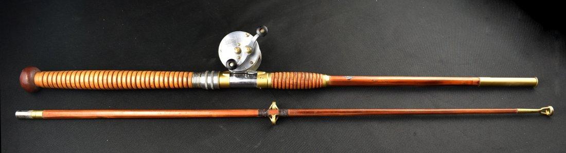 Vintage Horrocks-Ibbotson Bamboo Fishing Rod