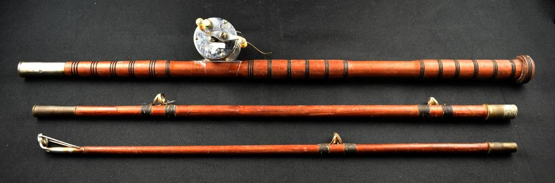 Vintage Wooden Fishing Pole