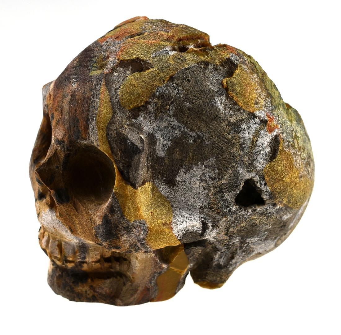"""2 3/4"""" Carved Skull Geode - 2"""