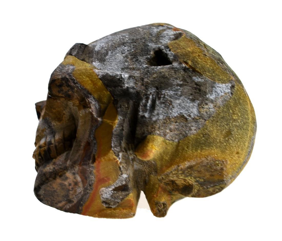 """2 3/4"""" Carved Skull Geode - 5"""