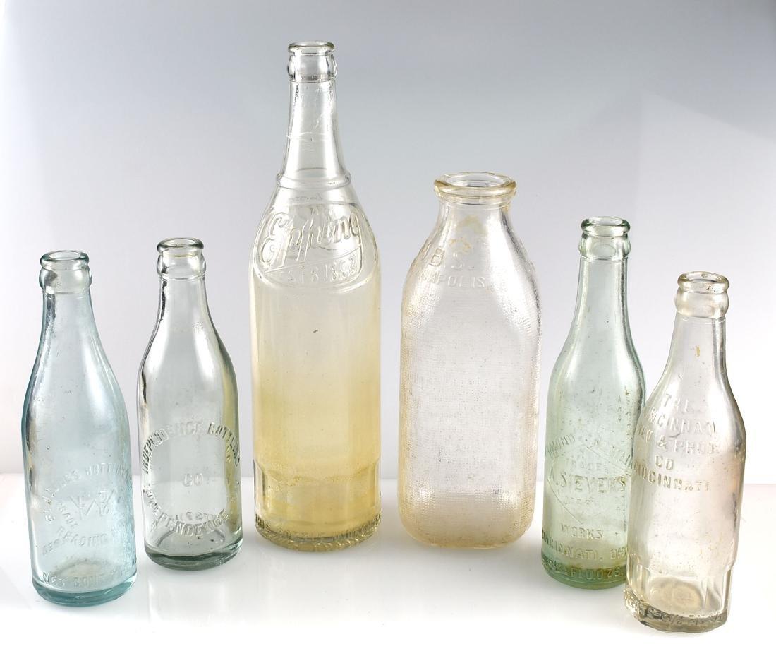 6 Vintage Bottles