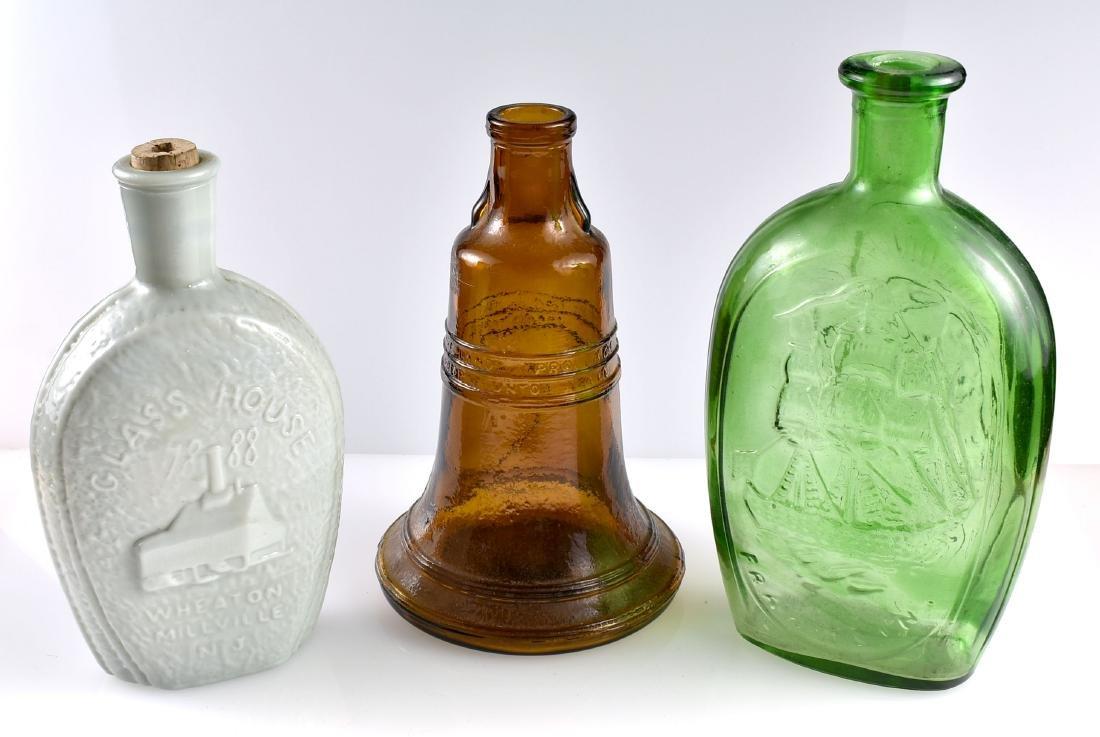 3 Patriotic Whiskey Bottles/Decanters - 2