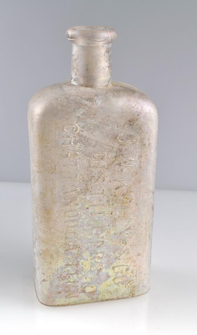 STUNNING J.W. Kelly & Co Whiskey Bottle