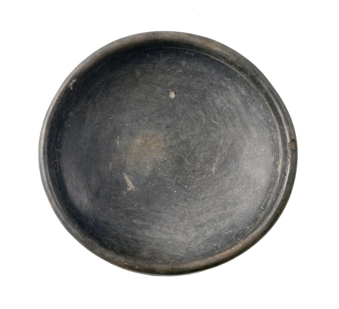 "6 1/4"" PreColumbian Mayan Tripod Bowl - 3"