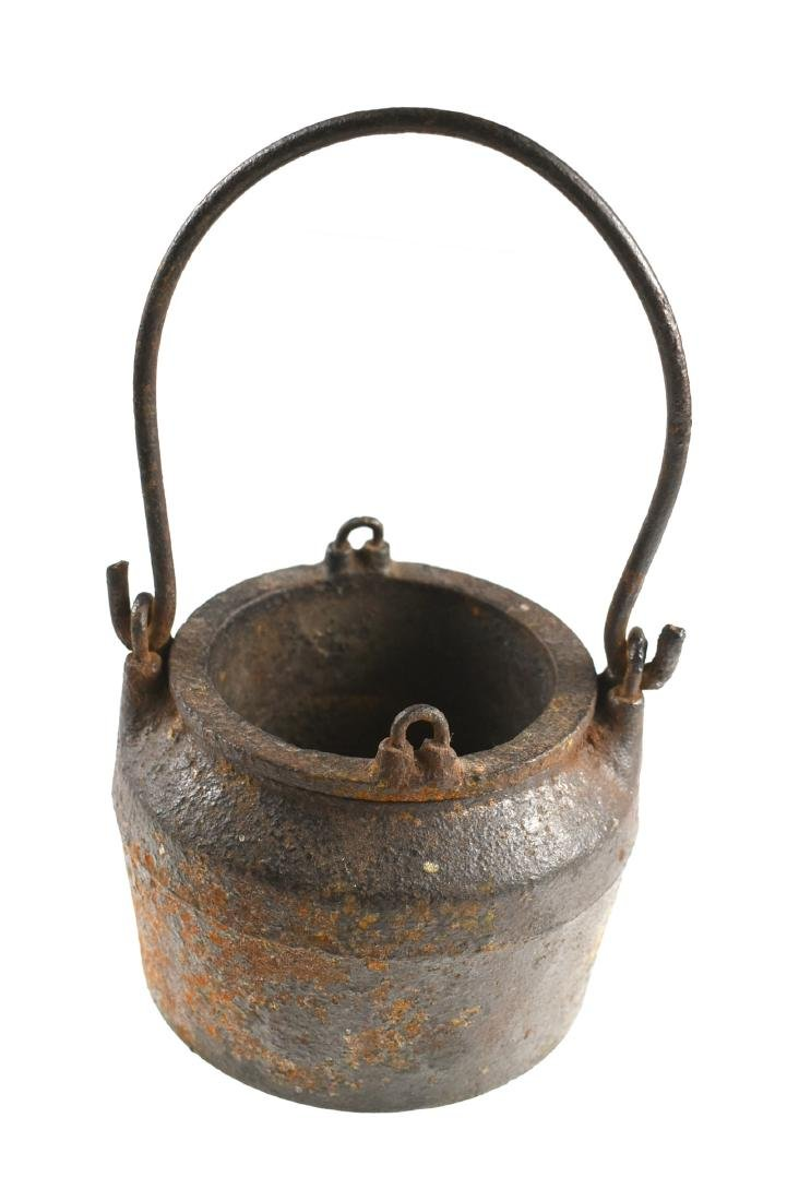 Vintage Cast Iron Glue Pot