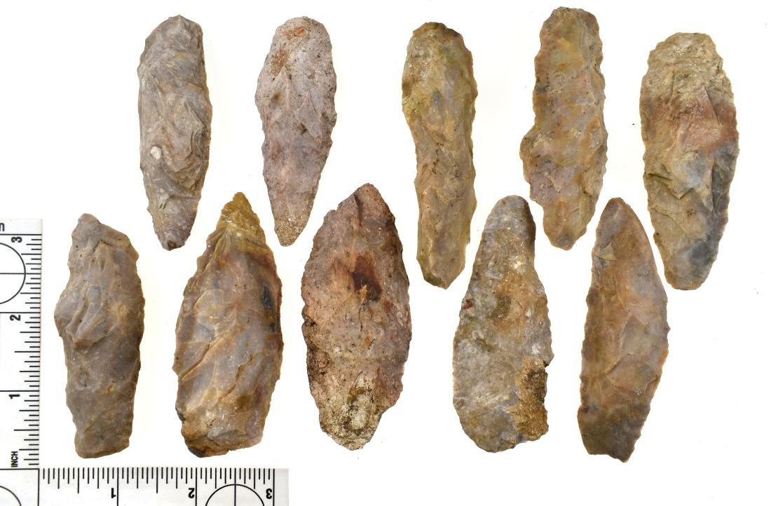 10 Kentucky Flint Blades
