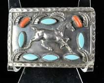 Vintage Benson Sam Sterling Silver Buckle