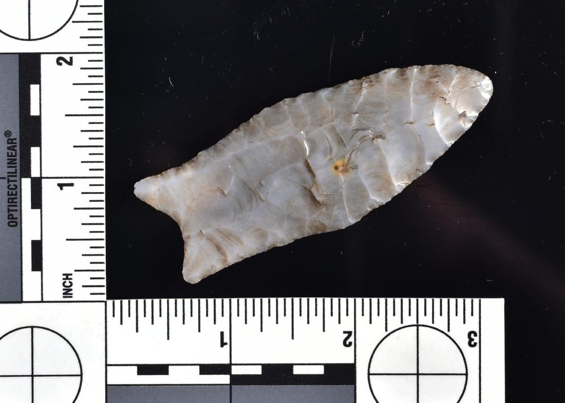 G-10 Flint Ridge Chalcedony Clovis - 2 COA