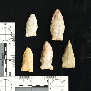 5 Excellent Kentucky Arrowheads