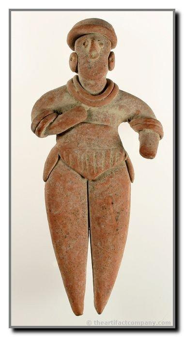 """173B: 6 1/4"""" Colima Figurine"""