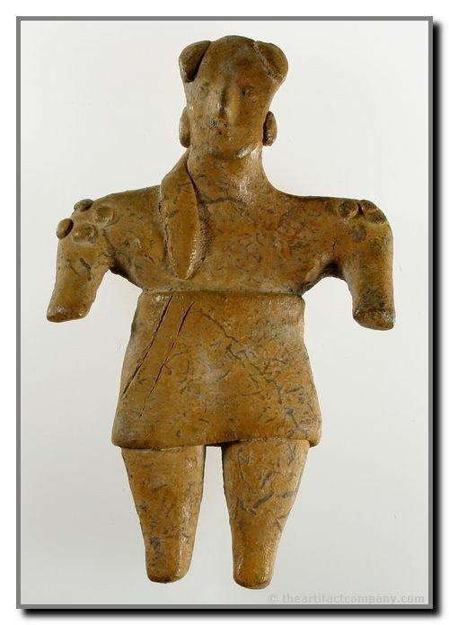 "173C: 4 9/16"" Nayarit Figurine"