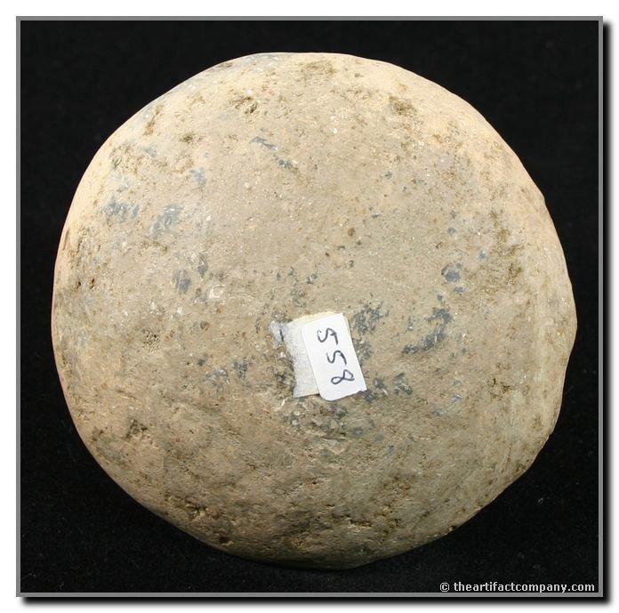 "419: 3 1/8""x3 3/8"" Pottery Trowel or Jar Lid - 2"