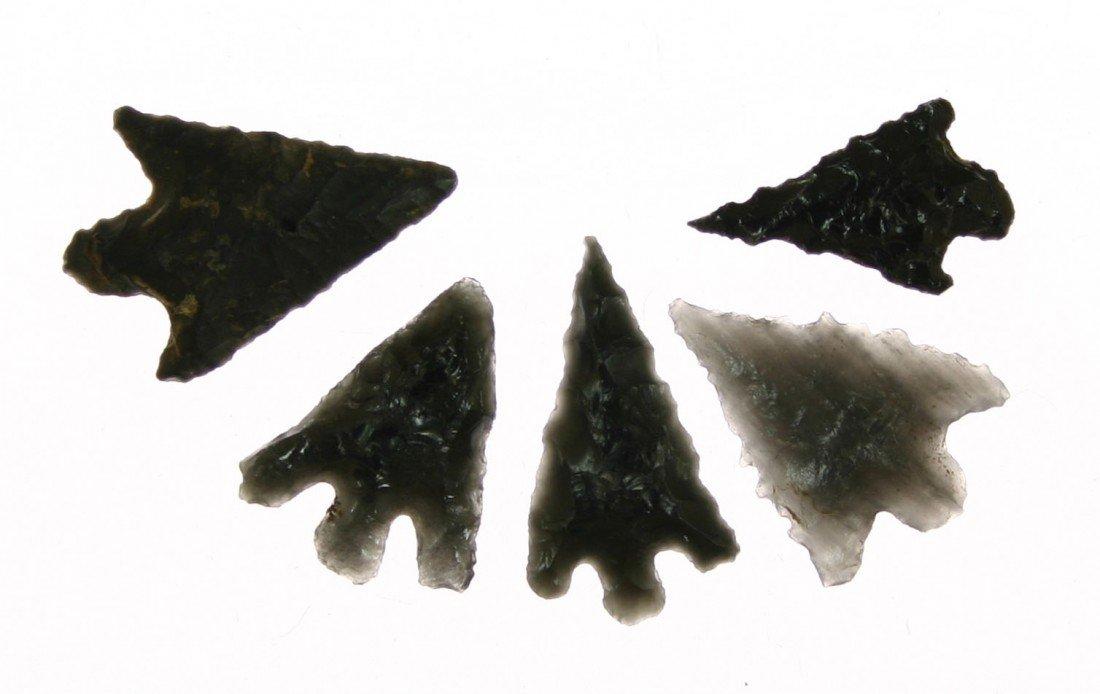 18: 5 Obsidian Darts