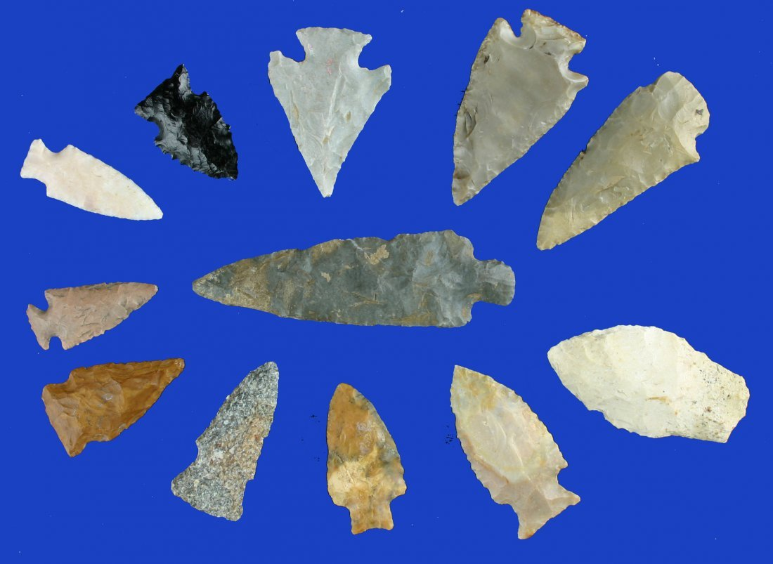 5: Dealer Lot - 12 Excellent Arrowheads