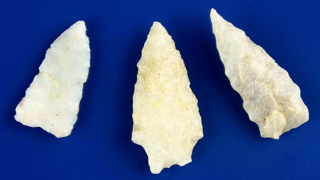 9: 3 Terrific Translucent Quartz Points