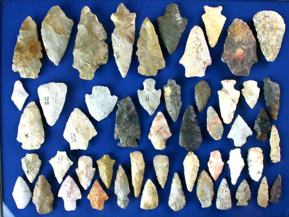 34: Dealer Lot - 50 Midwestern & Southeastern Arrowhead
