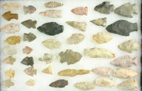 Dealer Lot - 40 Nice Kentucky & Ohio Arrowheads