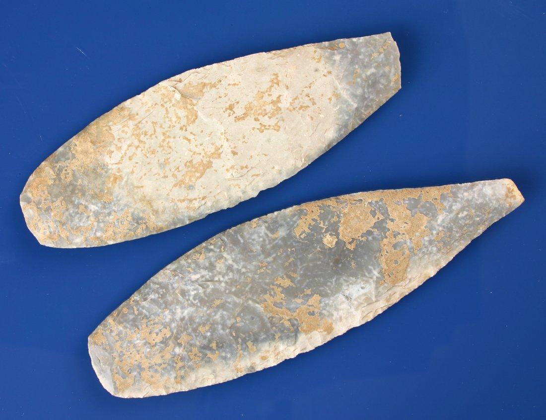 128: Pair of RARE Large Angostura Blades