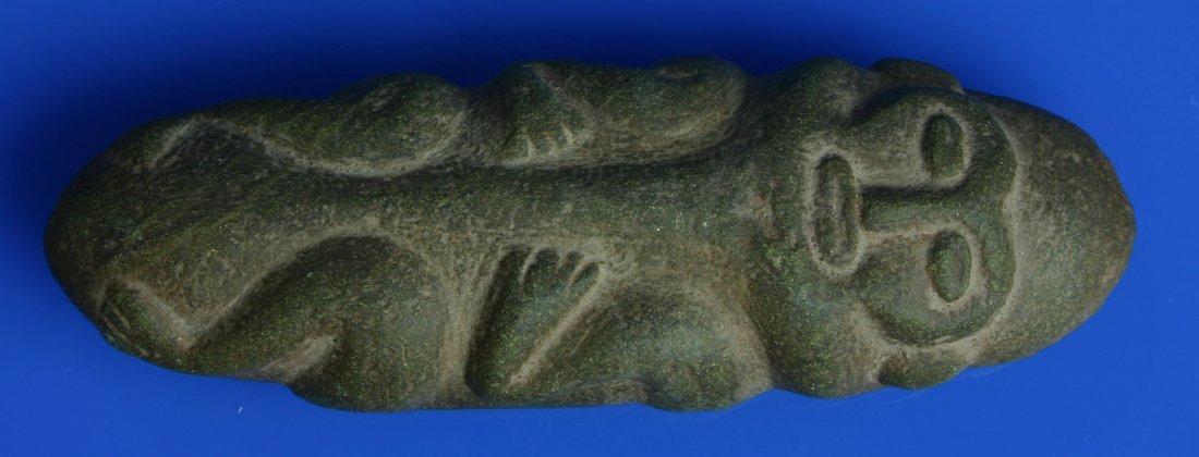 """141: 7 1/2"""" Taino Stone Idol"""