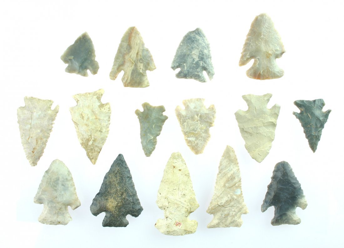 22: 15 Early Archaic Points from Kentucky
