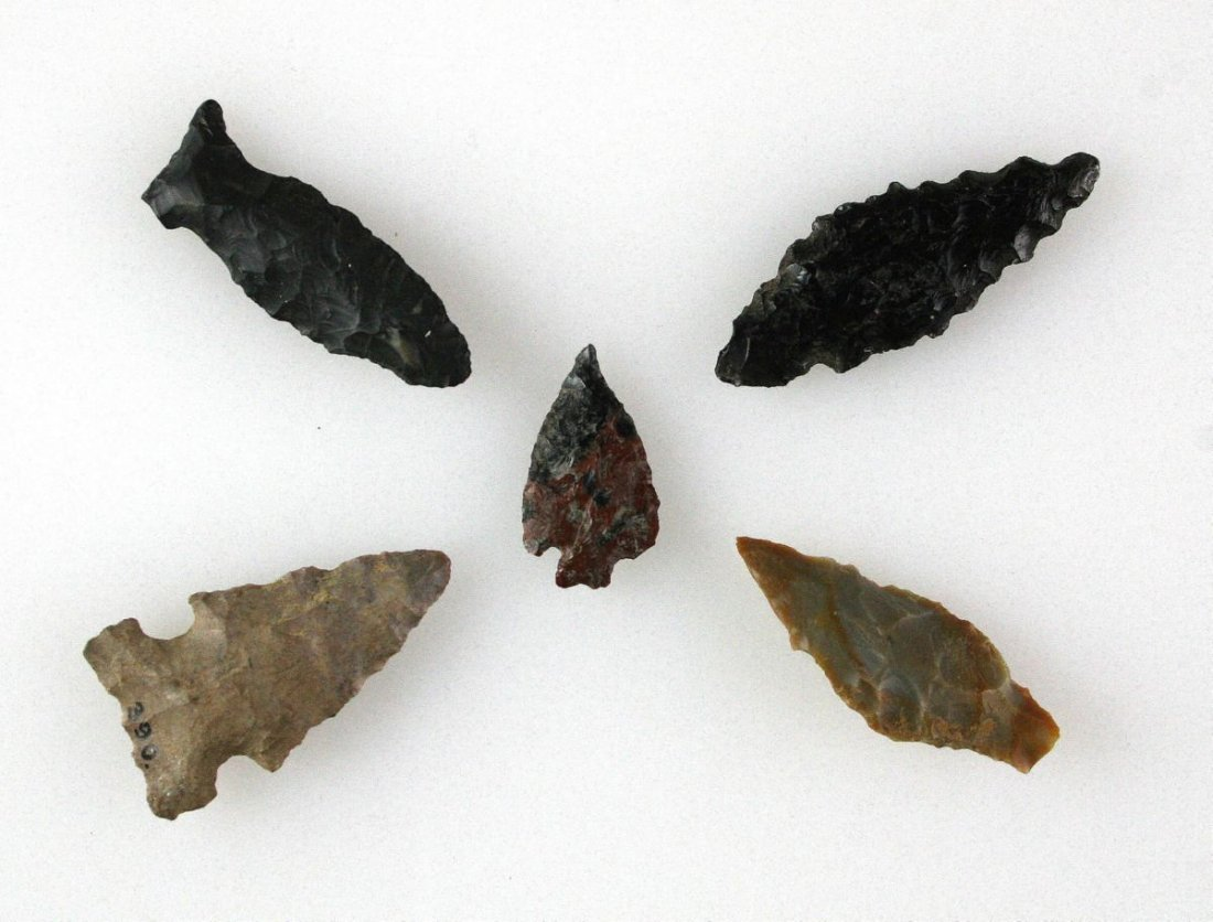 5 nice Arrowheads