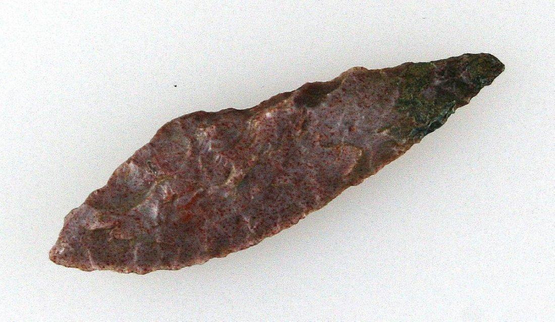 """1 7/8"""" Neolithic Leaf"""