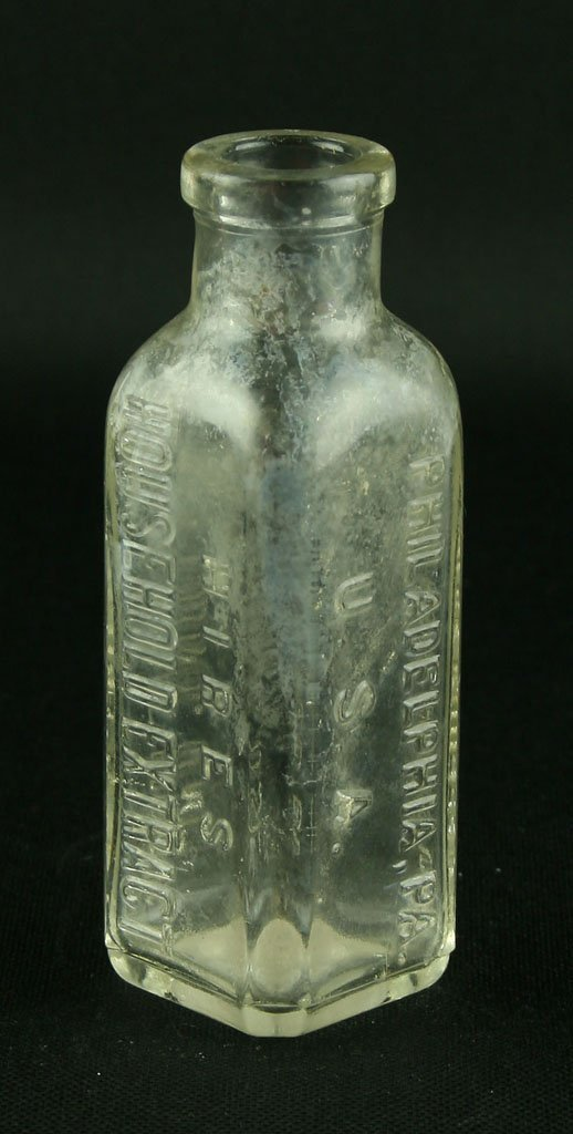 "4 9/16"" Hire's Household Extract Bottle"