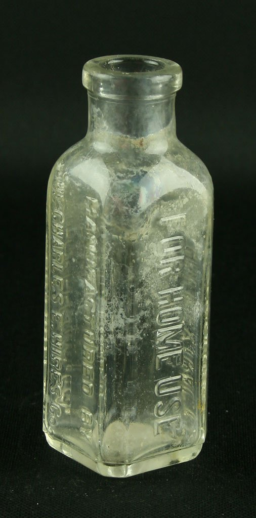 "4 9/16"" Hire's Household Extract Bottle - 2"