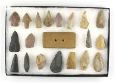 8x12 Display of Approx 20 Ky Artifacts