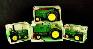 4 Toy John Deer Tractors NIB by Ertl