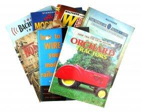 7 Train/tractors Books