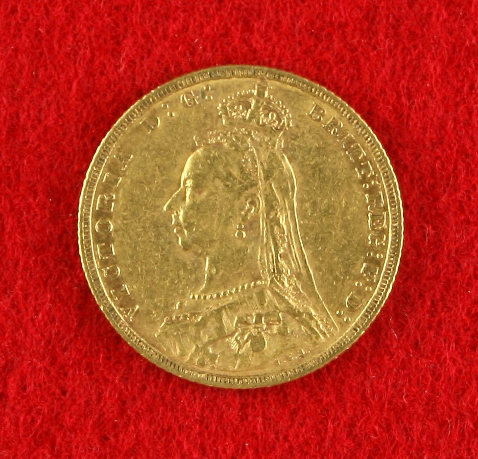 1888 English 'Jubilee Edition' Queen Victoria Gold Full