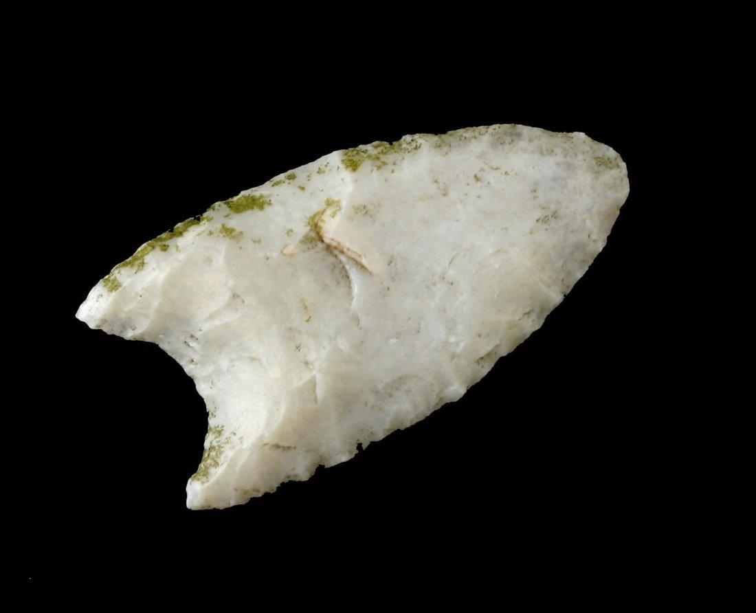 """1 3/8"""" New Mexico Agate Mini-Clovis"""