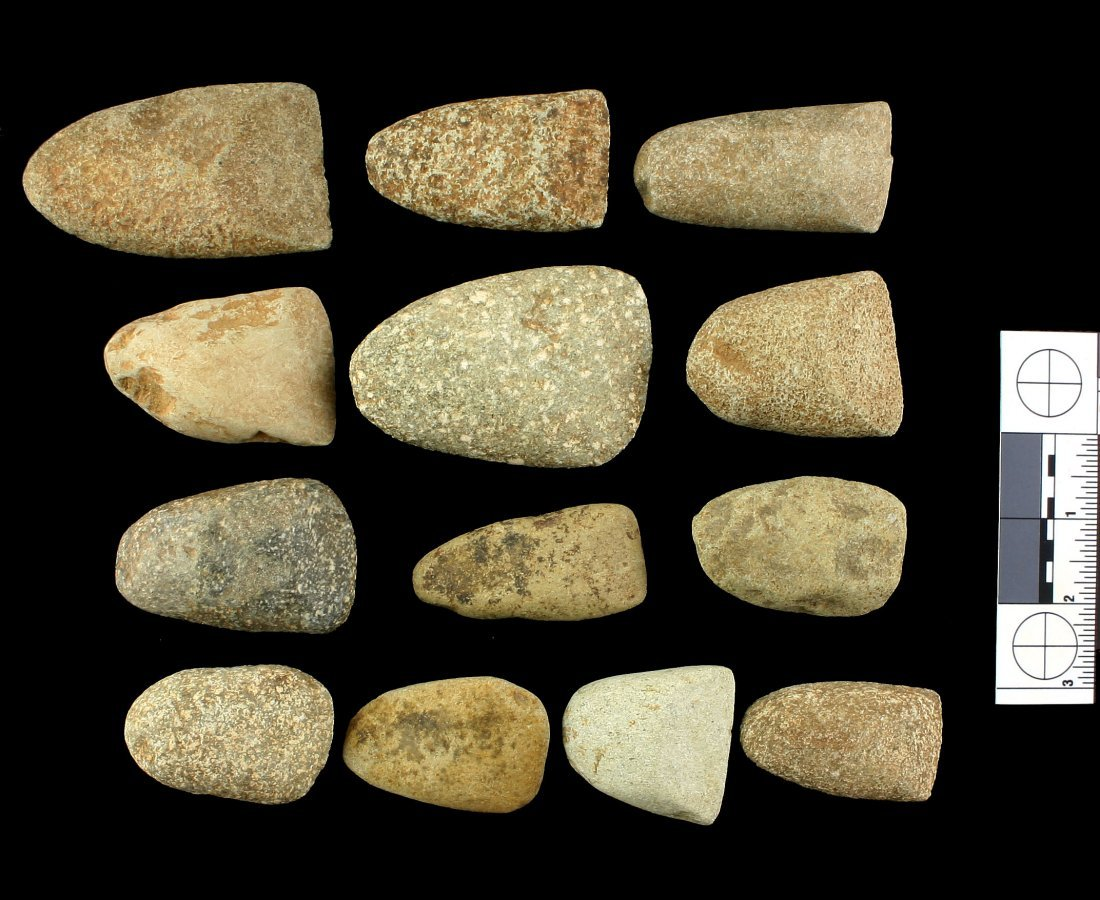 13 African Neolithic Celts