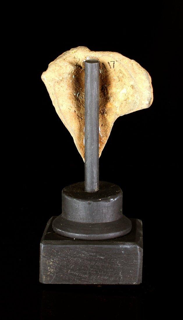 """2 1/4"""" Roman Terracotta Cherub Fragment - 4"""