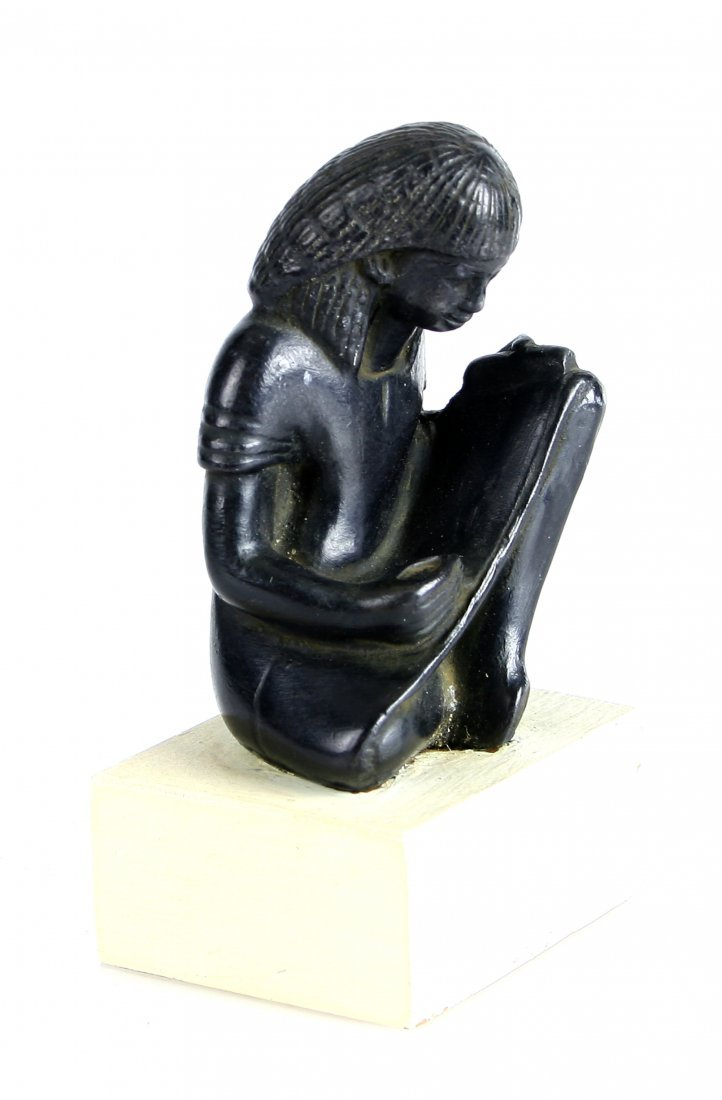 Museum Replica Seated Egyptian Scribe - 2