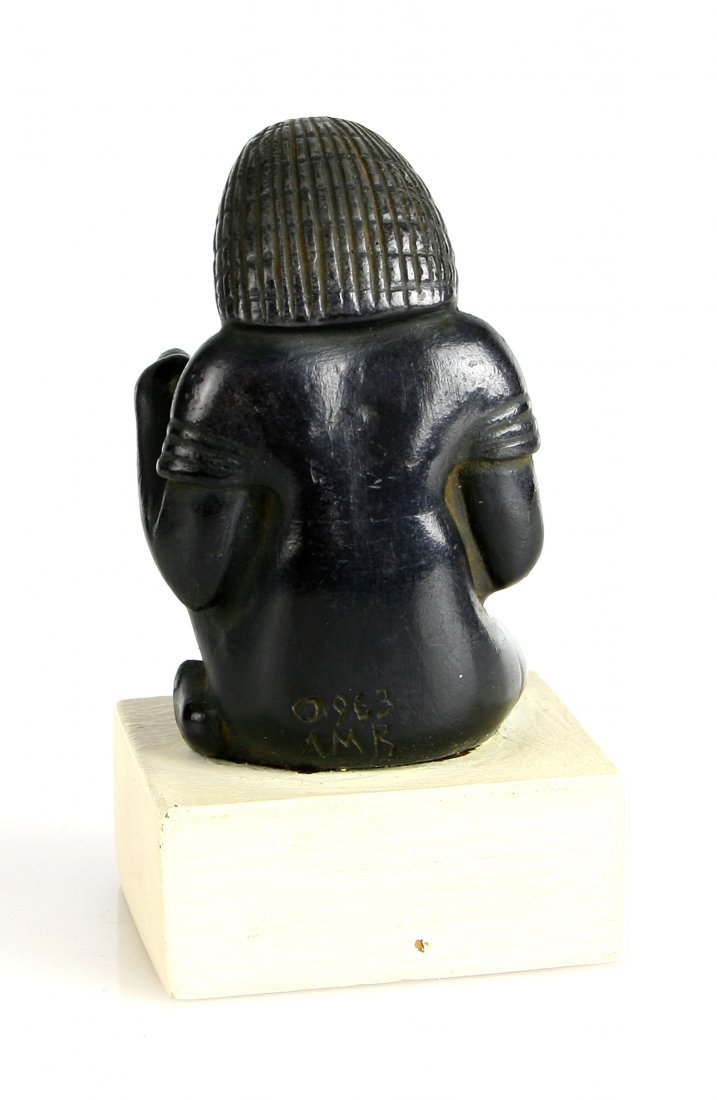 Museum Replica Seated Egyptian Scribe - 4