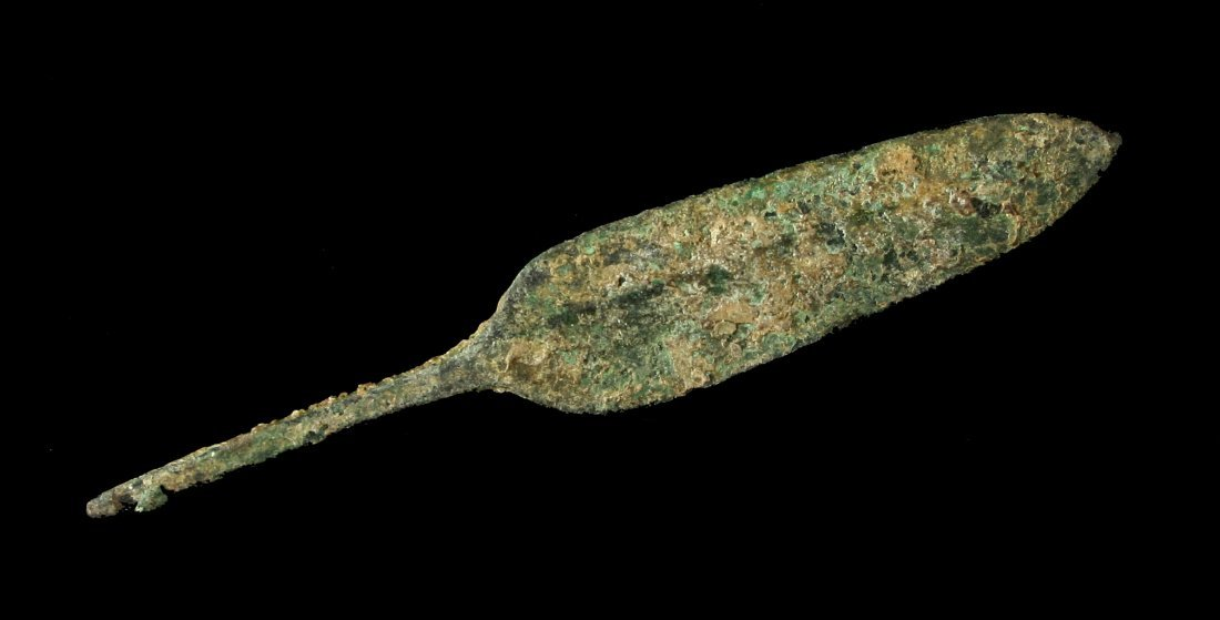 "4 3/16"" Luristan Bronze Spear"