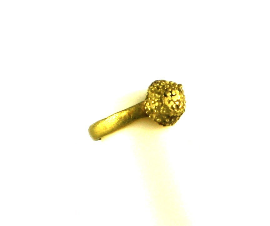 Ancient Roman Gold Ring 12mm