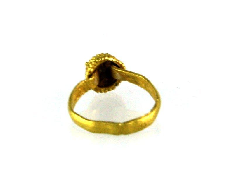 Ancient Roman Gold Ring 12mm - 3