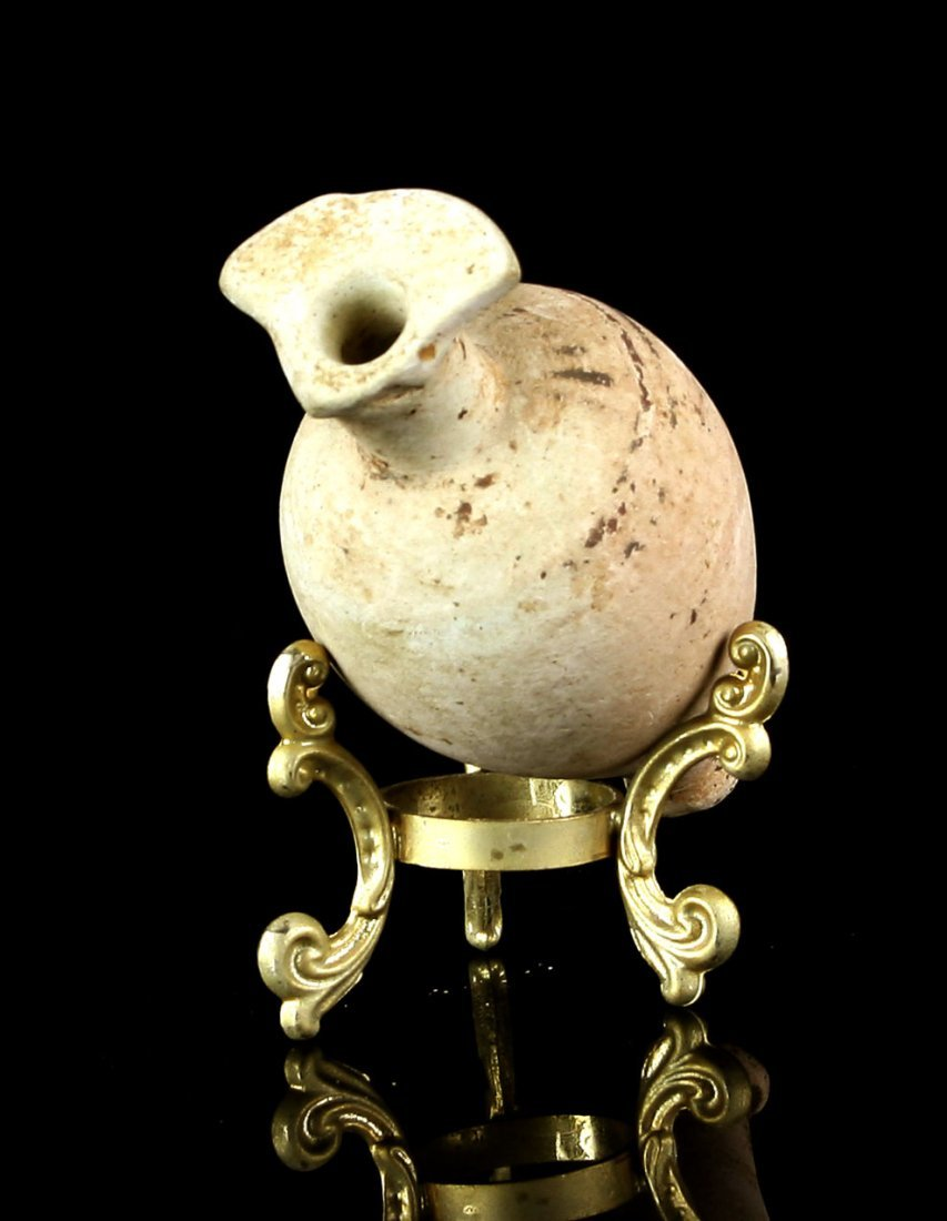 "3 1/2"" Etrusco-corinthian Amphora with stand - 4"