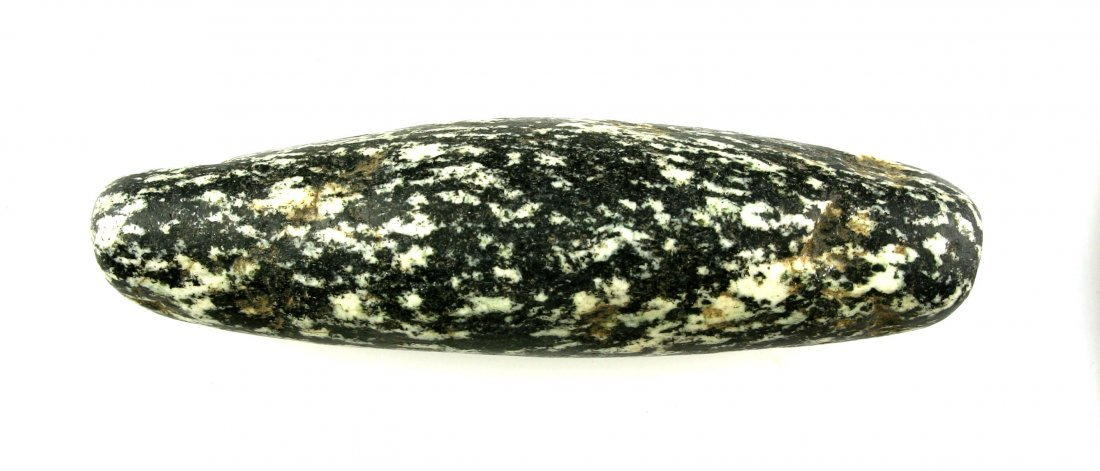 """3 3/16"""" Neolithic Gneiss Bead"""