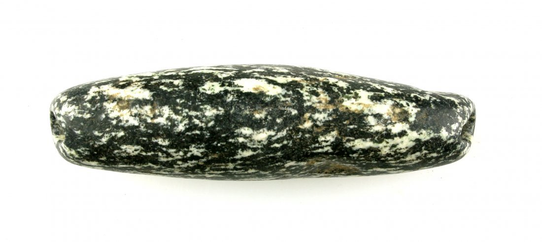 """3 3/16"""" Neolithic Gneiss Bead - 2"""