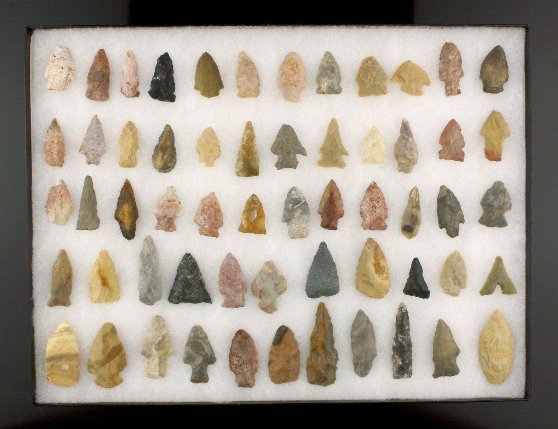 58 Eastern Kentucky Common Arrowheads
