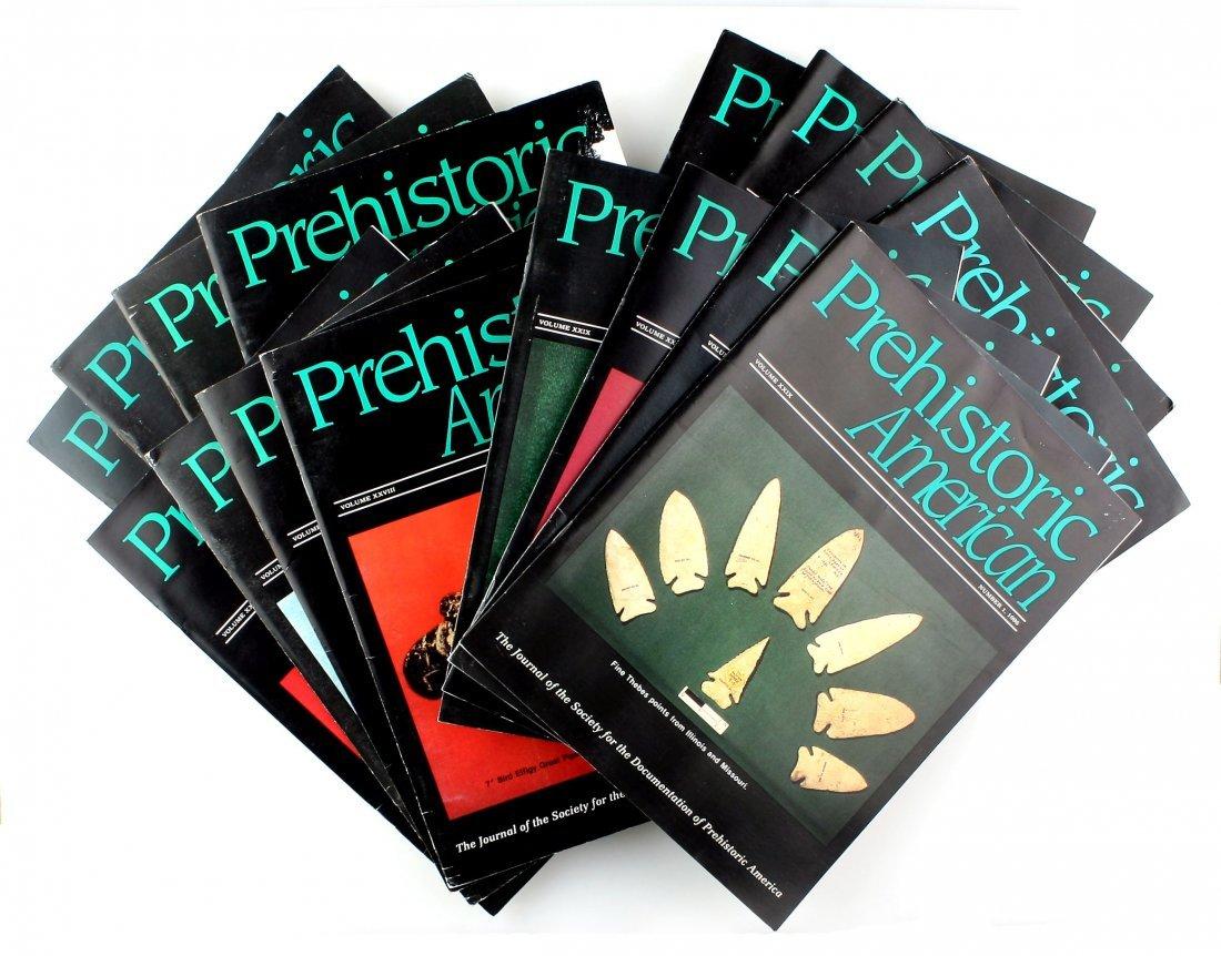 4 year set of Prehistoric American 1992-1995
