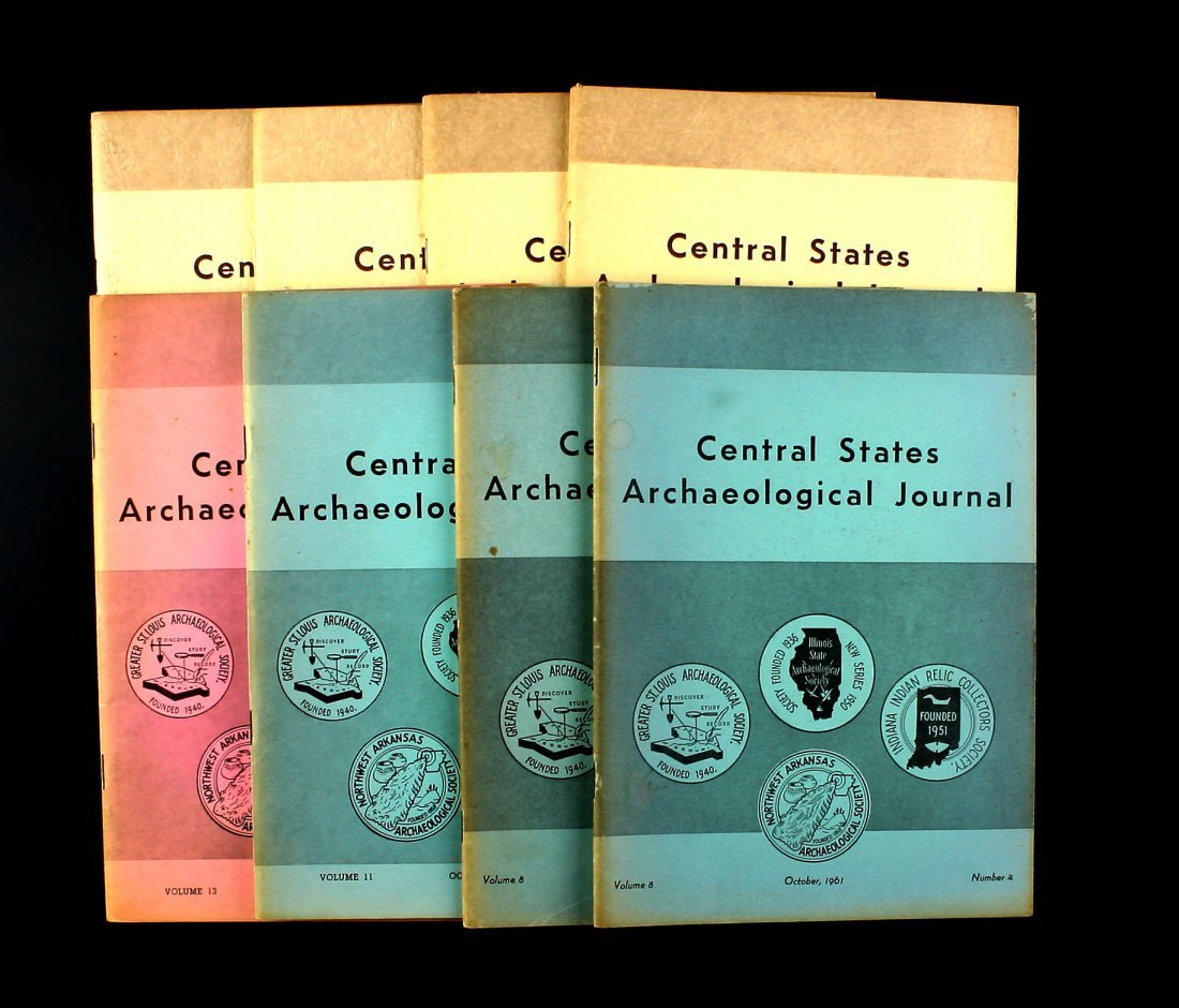 8 1960's Central State Journals