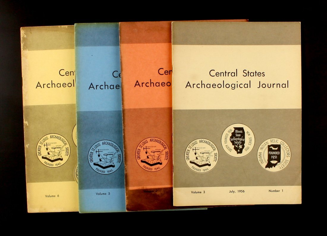4 1950's Central State Journals