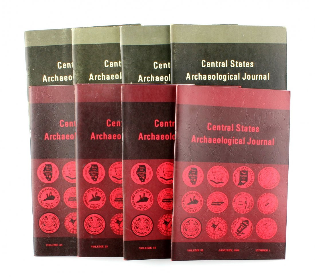 8 1980's Central State Archaeological Journals