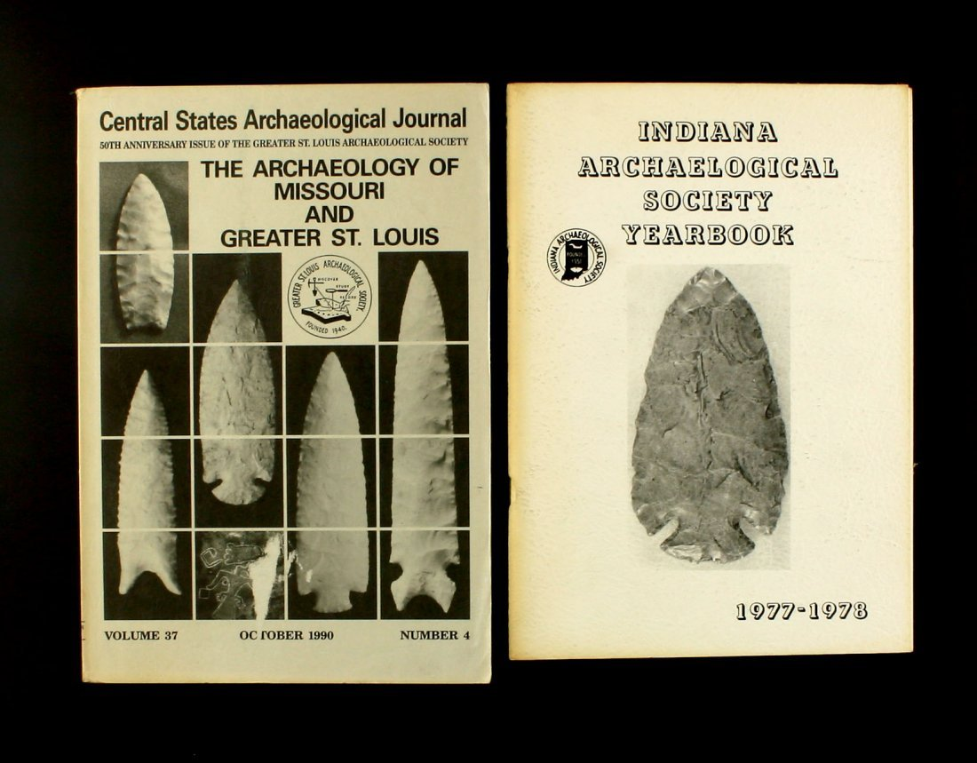 Pair of Early Arch. Journals